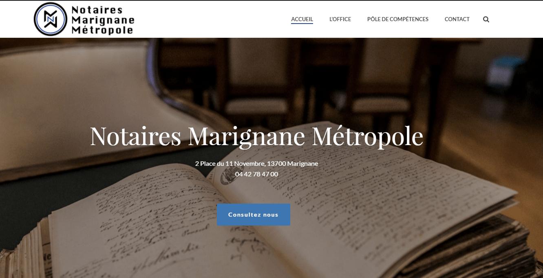 Création site internet Marignane