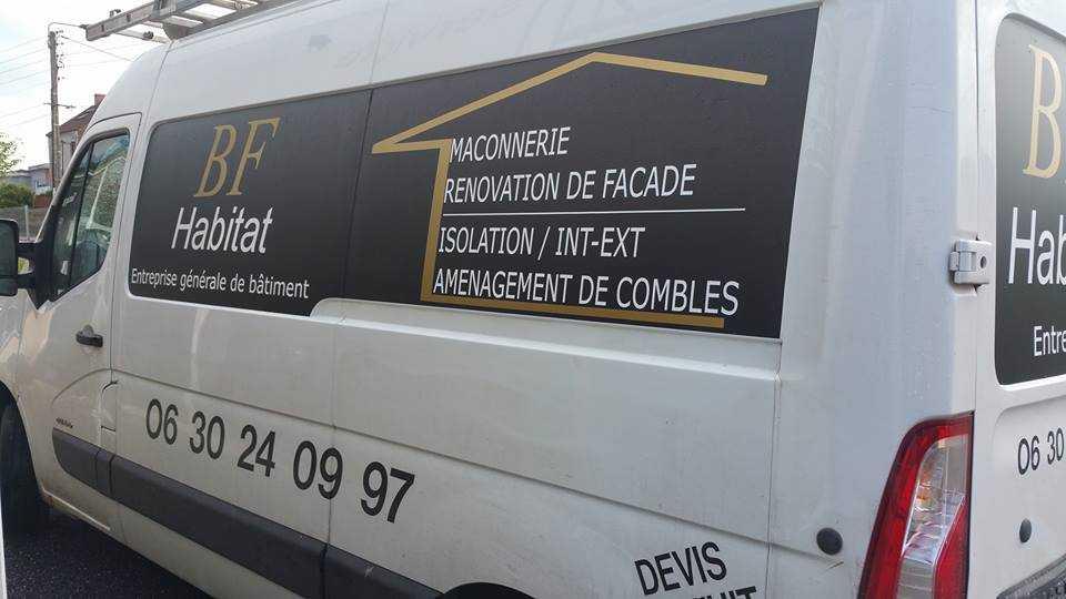 Flocage véhicule Avignon montfavet