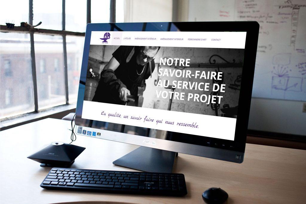 création site internet vitrine arles