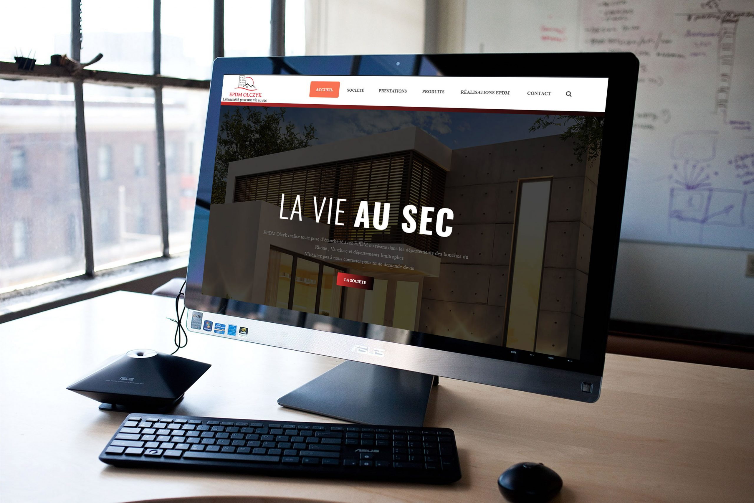 création site internet vitrine saint rémy de provence montfavet