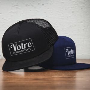 Imprimerie textile Cavaillon : casquette personnalisée et publicitaire