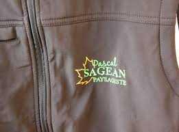 Marquage parka textile