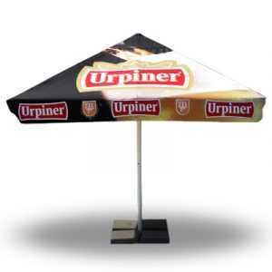 parasol publicitaire personnalisé carré