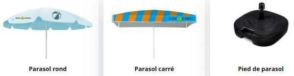parasols personnalises avignon