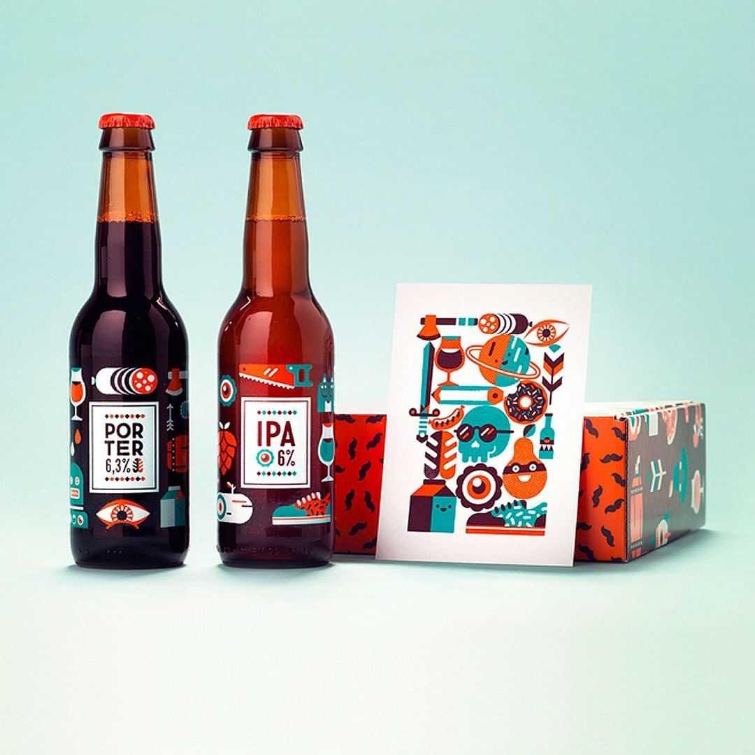 Packaging bouteille de bière