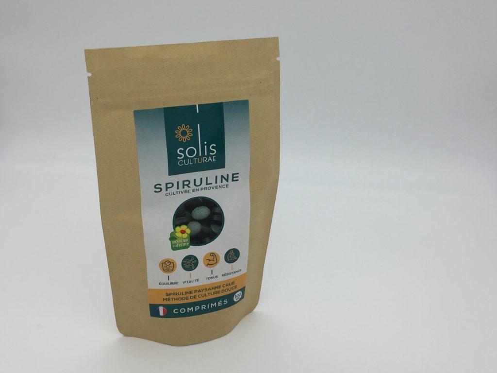 Packaging spiruline