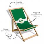 Chaise pliable personnalisée Avignon