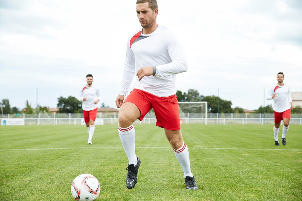 Impression textile maillot de foot
