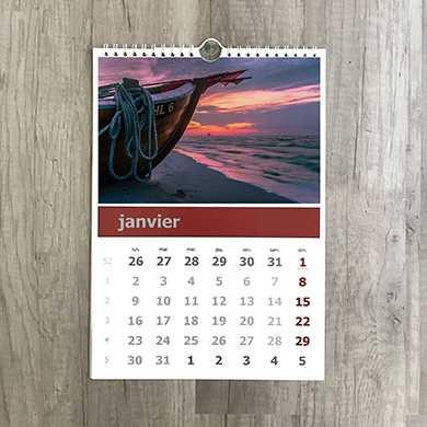 Imprimerie Vedène calendriers