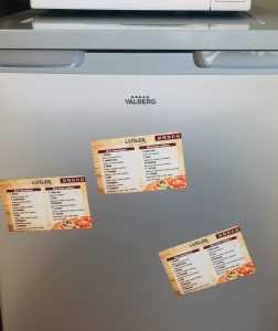 Imprimerie Magnets personnalisés pour pizzeriaVedène calendriers