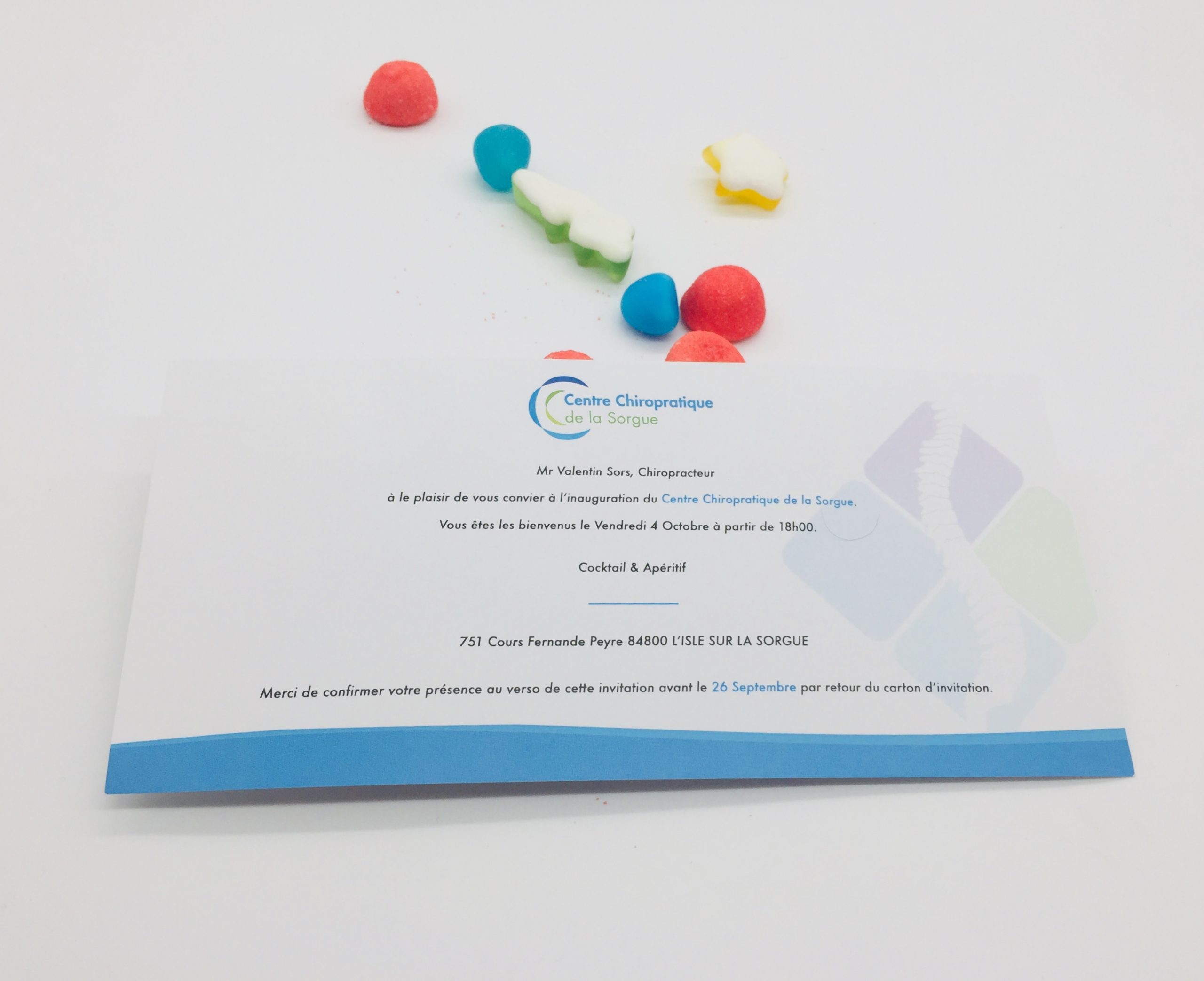 flyers avignon Carte d'invitation pour événement L'Isle-sur-la-Sorgue