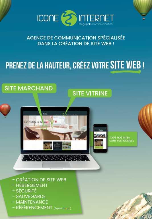 Agence de communication : site internet et imprimerie