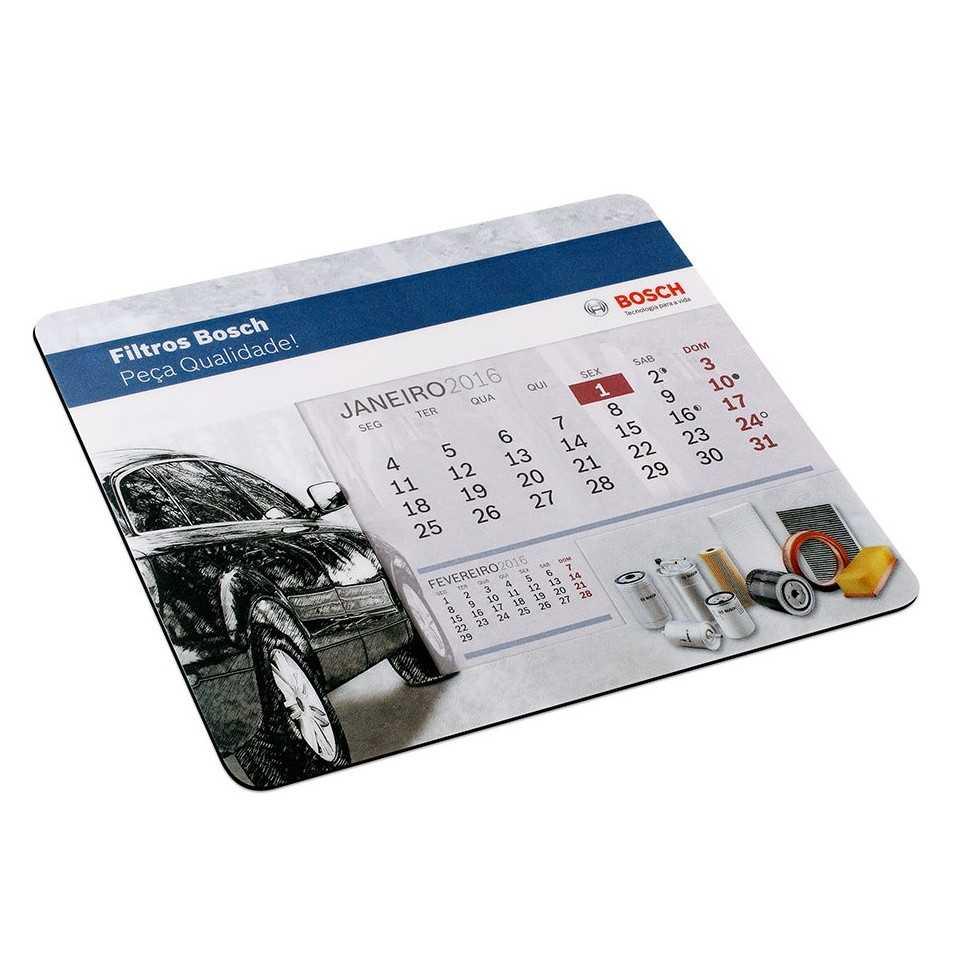 calendrier personnalisé tapis de souris