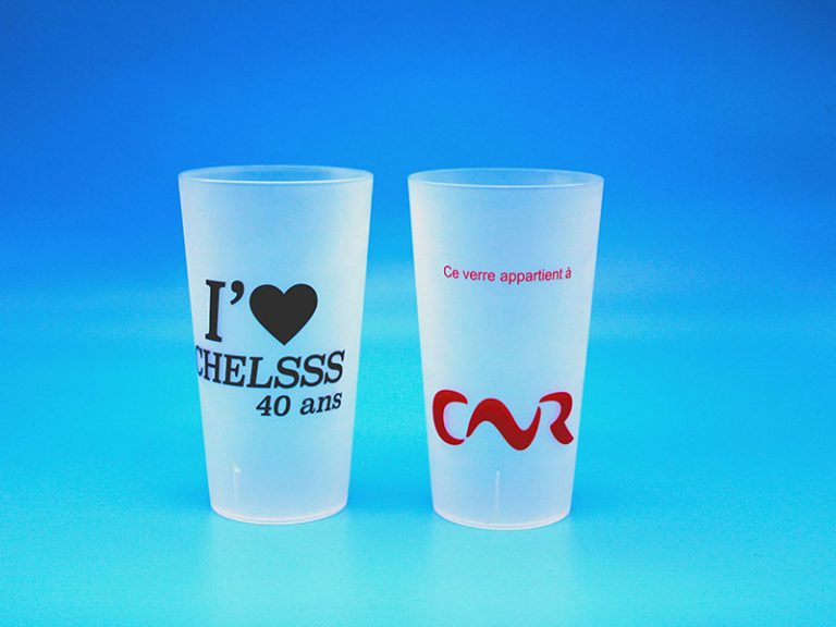 eco cups personnalisables