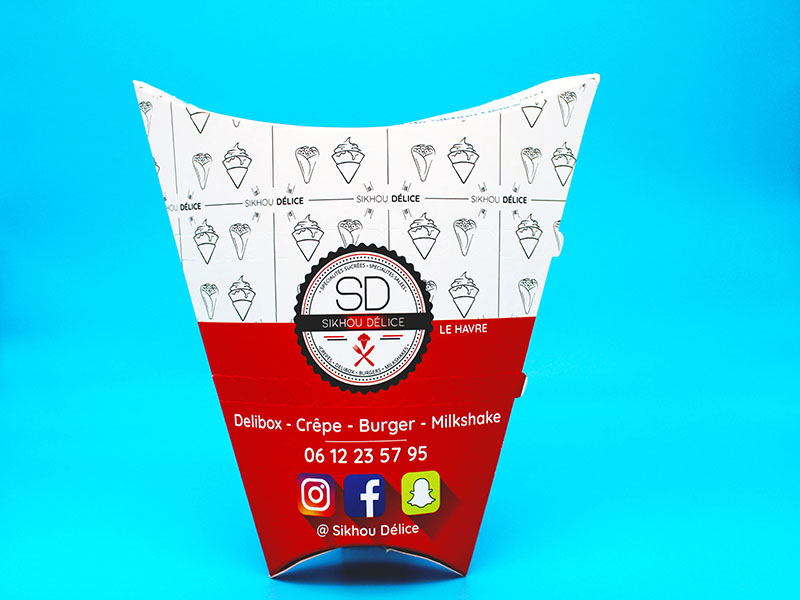 pasta box personnalisable