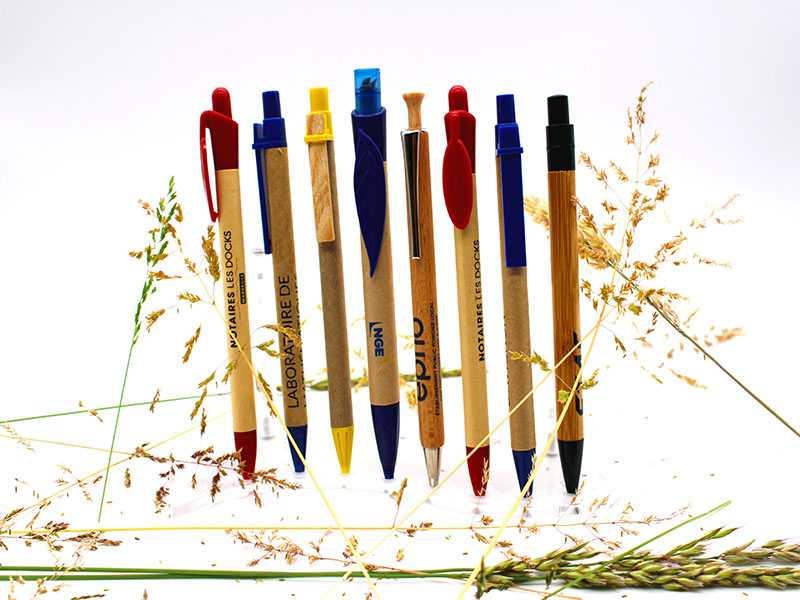 stylos biodégradables personnalisables 2