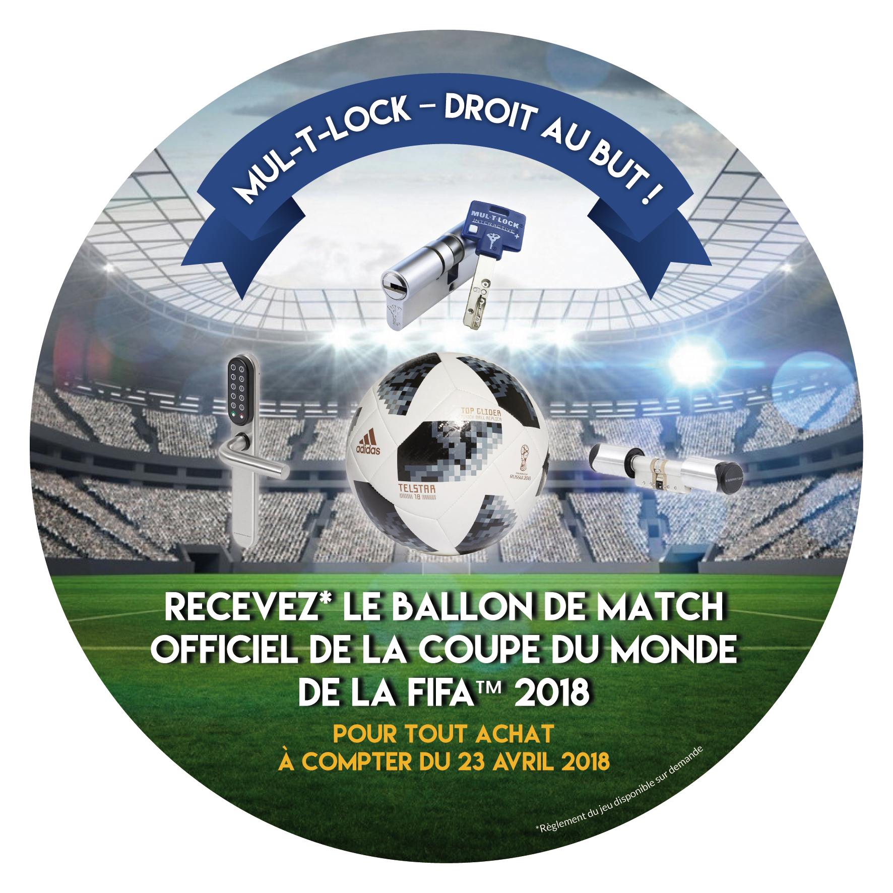 flyer rond foot euro 2020