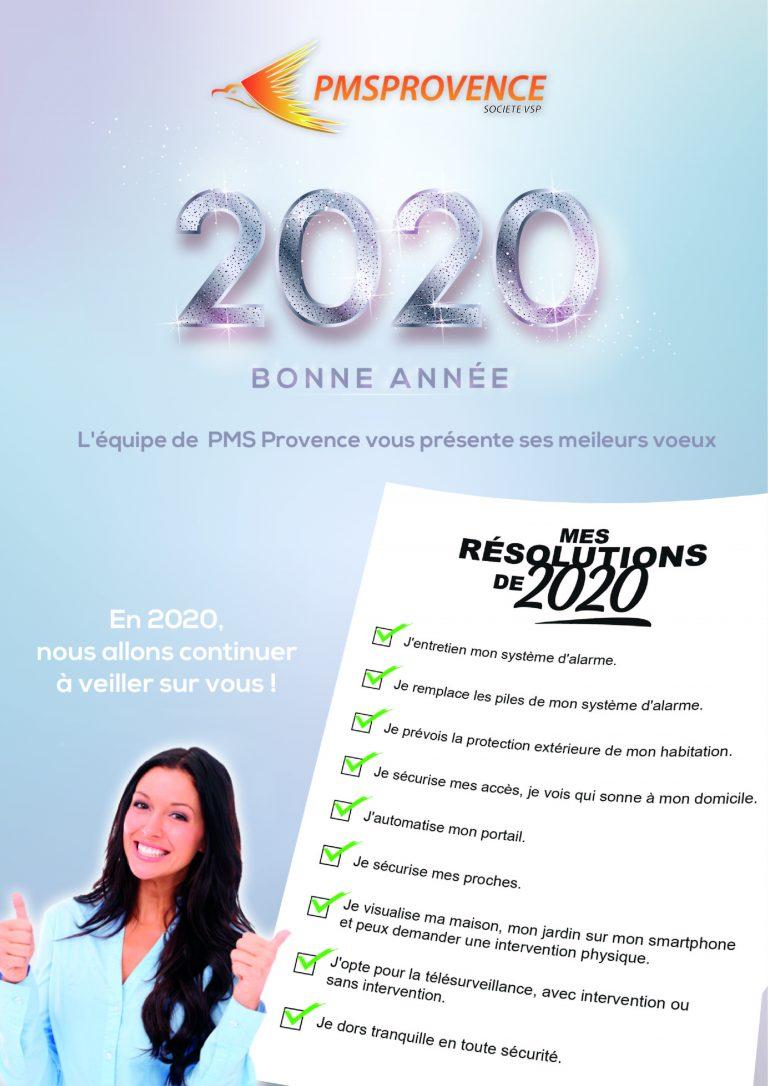 newsletter 2020 bonne année publicitaire