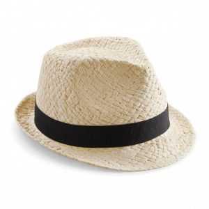 Chapeau de paille spécial festival d'Avignon pour communication