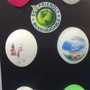 Ballon gonflable publicitaire personnalisé biodégradable
