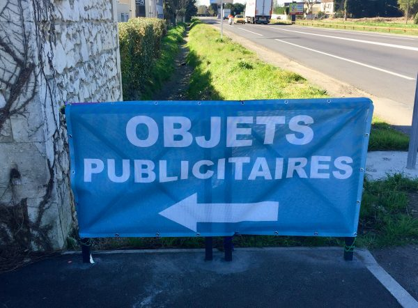 Bâche signalétique Le pontet Vaucluse Monteux