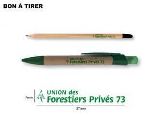 crayons graines personnalisés publicitaires