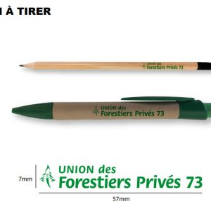 Bon a tirer crayons graines plant a tree