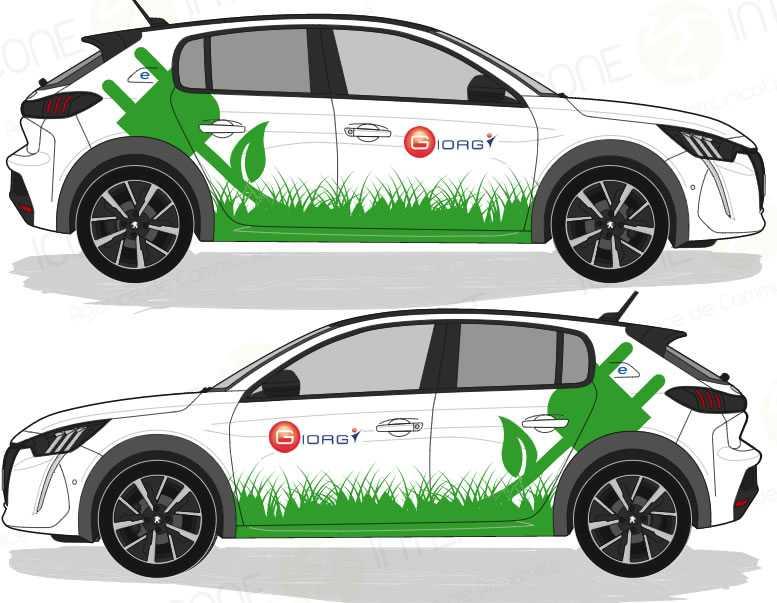 creation graphique covering automobile