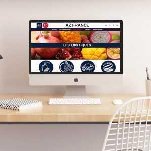 Création site internet Fruits et légumes