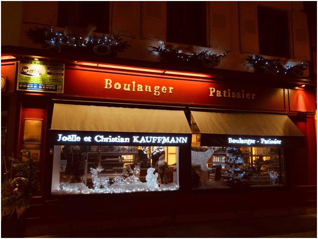 Lambrequins lumineux Avignon