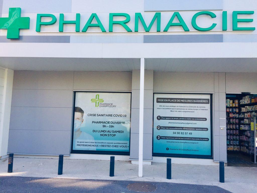 Signalétique pharmacie enseignes Avignon