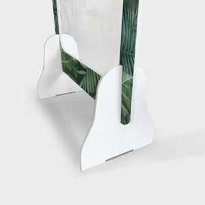 plaque de plexiglass de protection