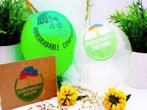 ballons publicitaires personnalisees biodegradables