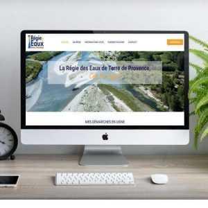 Création site internet organisme public
