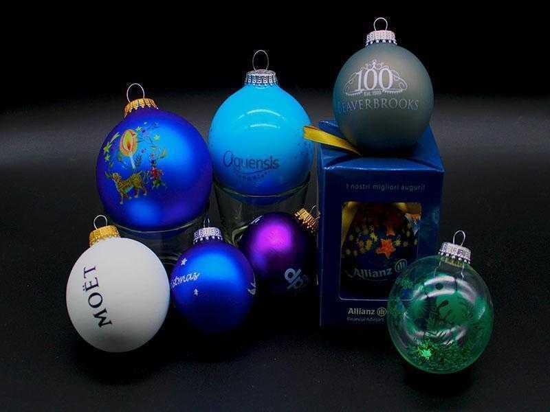 Pack boules de noel personnalisées