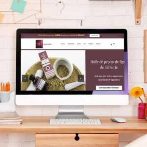 Création site ecommerce cosmétique