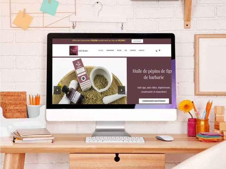 creation site internet ecommerce cosmetique