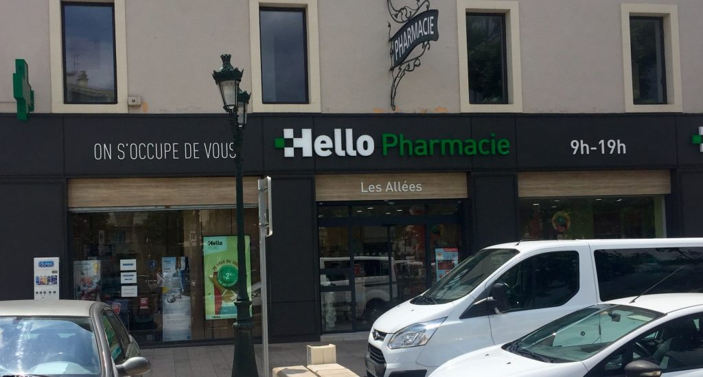 Enseignes pharmacies