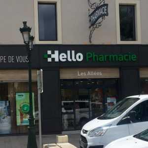 conception enseigne pharmacie