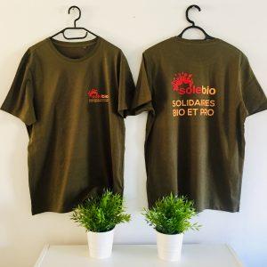 Marquage T-shirt coeur et dos avignon
