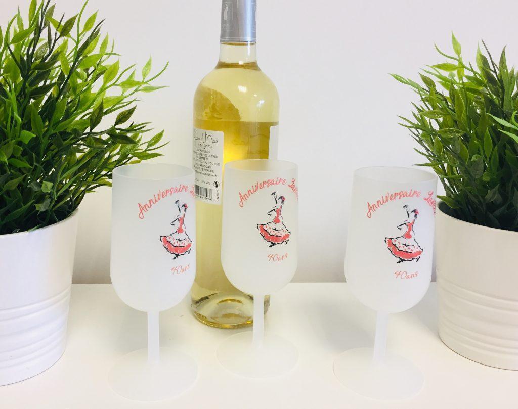 ecocup personnalisé verre à vin