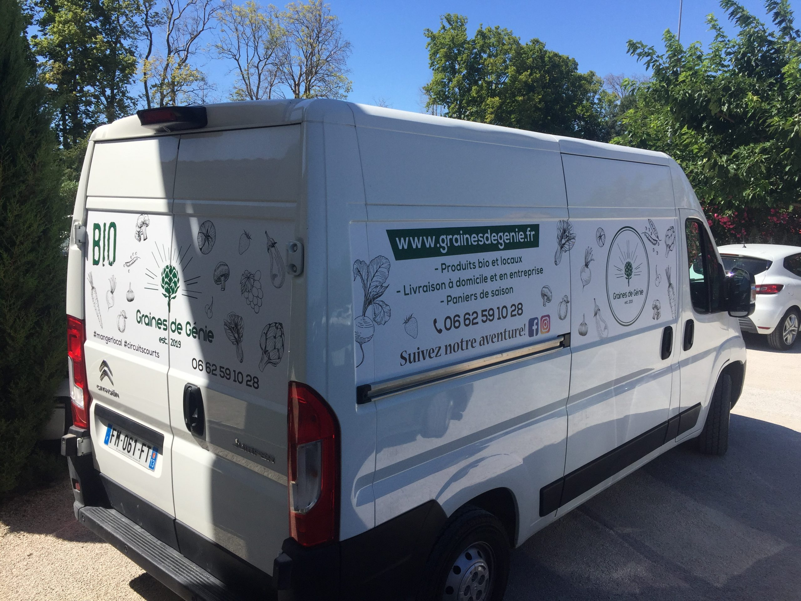 Flocage camion