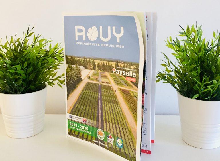 Impression de Catalogue publicitaire imprimerie avignon vedene textile alpilles