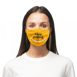 Masque en microfibres personnalisé