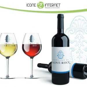 Création de logo domaine viticole