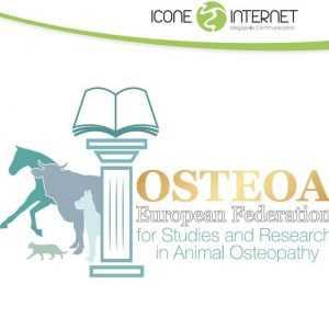 Création de logo osthéopathe animalier