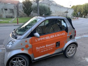 Flocage véhicule smart