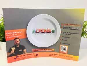 SET DE table personnalisé et pub publicitaire