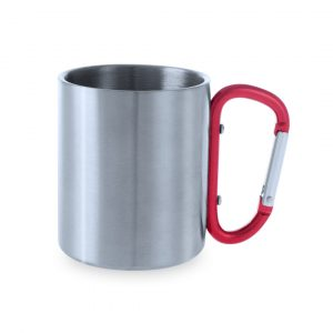 Mug en acier inoxydable d´une capacité de 210 ml