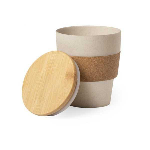 verre fibre bambou personnalisé et publicitaire